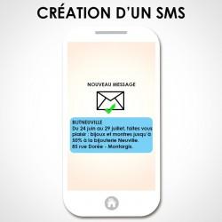 Création d'un sms