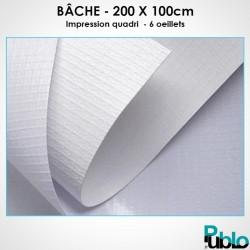 Banderole 200 x 100cm
