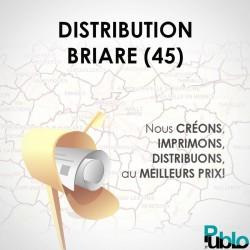 Briare Agglo - Distribution boite aux lettres
