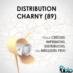 Charny 89 Distribution 30000 boites