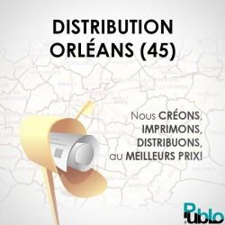 Distribution boites aux lettres ORLÉANS