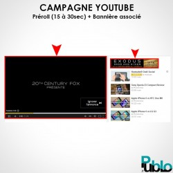Campagne Publicitaire Youtube