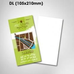 Flyers DL (210x105 mm) - de 1 à 6 pages