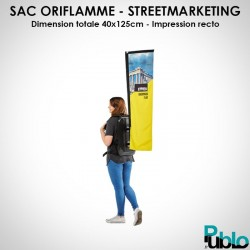 BBT - Sac oriflamme street marketing