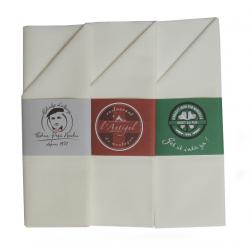 Pochette serviette baguée personnalisée