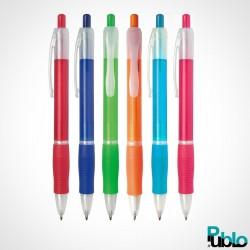 Stylos publicitaires AC0105 6 couleurs de 1 à 2 marquages
