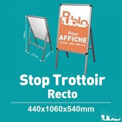 Stop Trottoir - Simple face (440x1060x540mm)