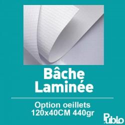 Bâche Laminée 440gr (60x40cm)