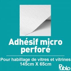 Adhésif microperforé vitre arrière de voiture (145x65cm)