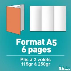 Menu traiteur A5 6 pages