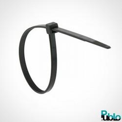 Collier rilsan plastique noir