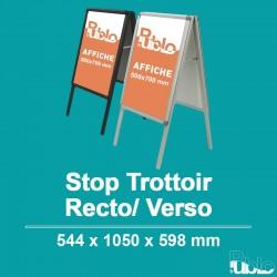Stop Trottoir - Double face (544x1050x598mm)