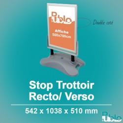 Stop Trottoir - Double face (542x1038x510mm)
