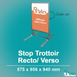 Stop Trottoir - Double face (575x956x940mm)