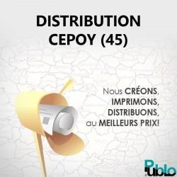 Cepoy - Distribution boite aux lettres