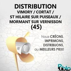 Vimory / Cortrat / St Hilaire sur puiseaux / Mormant sur Vernisson - Distribution boite aux lettres
