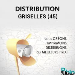 Griselles - Distribution boite aux lettres
