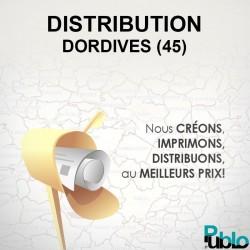 Dordives - Distribution boite aux lettres