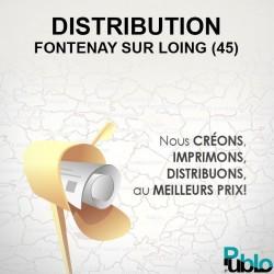 Fontenay sur Loing - Distribution boite aux lettres