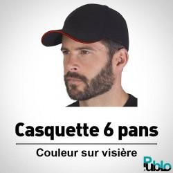 Casquette 6 pans