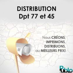 Distribution Département 77 et 45
