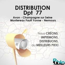 Distribution Département 77