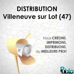 Villeneuve sur Lot - Distribution boite aux lettres