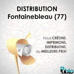Fontainebleau - Distribution boite aux lettres