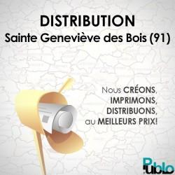 Sainte Geneviève des Bois Distribution + Flyer A5 R/V