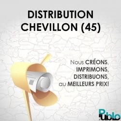 CHEVILLON - Distribution boites aux lettres