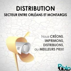 SC GOLD - Distribution Boîte à lettre zone entre Montargis et Orléans