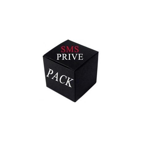 Pack SMS Privé